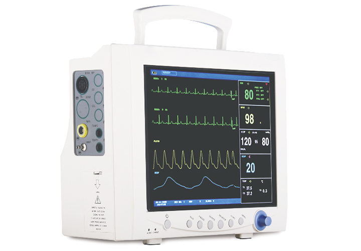 CMS7000 Multi-parameter ECG, Respiration, NIBP, SpO2, PR, TEMP, EtCO2(optional), IBP(optional) Digital Patient Monitor gpyoja 2016 hot selling multi parameter ecg nibp spo2 pr temp resp tablet patient monitor
