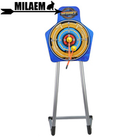 1pc Kids Archery Stand Target Bow And Arrow Toy Plastic Shooting Accessory Game Fun Gift