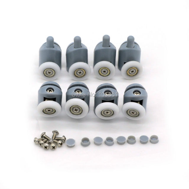 New Set of 8 Single Shower Door Rollers / Runners / Wheels / Pulleys / Guides  sc 1 st  AliExpress.com & New Set of 8 Single Shower Door Rollers / Runners / Wheels ... pezcame.com