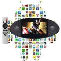 7 pollice android smart SOUNDBAR (Android5.1.1, RK3128 Quad Core 1 GB DDR, 8 GB di Ram, Touch schermo, wifi, BT, macchina fotografica, mic, remote)