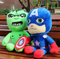 55 CM Anime Peluş Hulk Avengers Parti Şekeri Dolması Oyuncak Avengers Peluş Bebek Avengers Peluş Doğum Günü Oyuncaklar