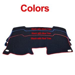 Image 3 - Car Dashboard Cover Dash Mat For Suzuki Ertiga 2012 2013 2014 2015 2016 2017 Dashmat Pad Carpet Dash Board Cover Auto Sun Shade