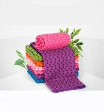 Soft Travel Sport Fitness Exercise Yoga Pilates Mat Cover Towel Blanket Non-slip Sports Towel