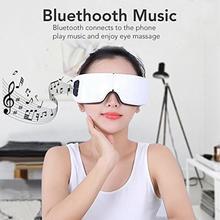 العين مدلك الكهربائية سبا الهواء ضغط عيون مدلك أداة الموسيقى اللاسلكية الاهتزاز المغناطيسي التدفئة العلاج العين الرعاية