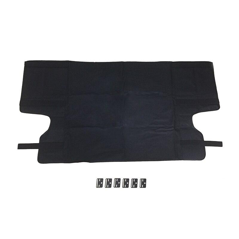 Imperméable Arrière De Coffre Hayon Couverture Bouclier Bagages Couverture D'ombre pour Jeep Wrangler JK 4 Porte Automatique de Voiture de Bouclier De Sécurité