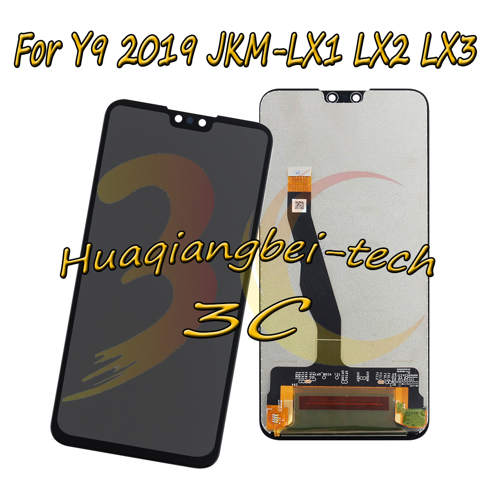 6.5 Original New For Huawei Y9 2019 JKM-LX1 JKM-LX2 JKM-LX3 Full LCD DIsplay + Touch Screen Digitizer Assembly 100% Tested6.5 Original New For Huawei Y9 2019 JKM-LX1 JKM-LX2 JKM-LX3 Full LCD DIsplay + Touch Screen Digitizer Assembly 100% Tested