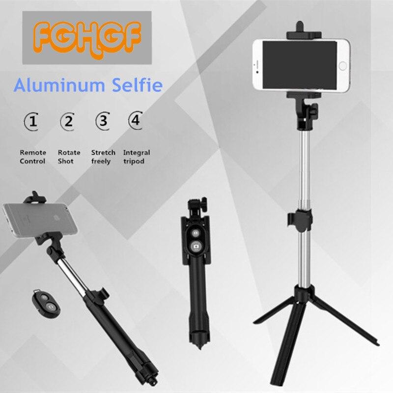 FGHGF Palo selfie universal Selfie Stick Bluetooth Connection Selfie Sticks Tripod For Xiaomi Tripod Selfie Stick For iPhone 6 7