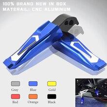 New CNC Aluminum Motorcycle Folding Rearset Foot Pegs Rear Passenger Footrests Fit For Yamaha MT07 MT 07 MT-07 2014 2015 2016 waase cnc adjustable rider rear sets rearset footrest foot rest pegs for yamaha mt 07 mt07 fz 07 fz07 2013 2014 2015 2016 2017