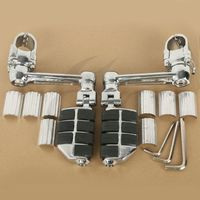 Adjustable Aluminum Foot Rest Foot Pegs For Honda Goldwing GL1800 22mm 30mm 35mm