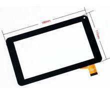 """Nueva Pantalla Táctil de 7 """"Efecto de Tesla 7.0 w Tablet Touch Panel digitalizador Del Sensor de cristal Envío Gratis"""