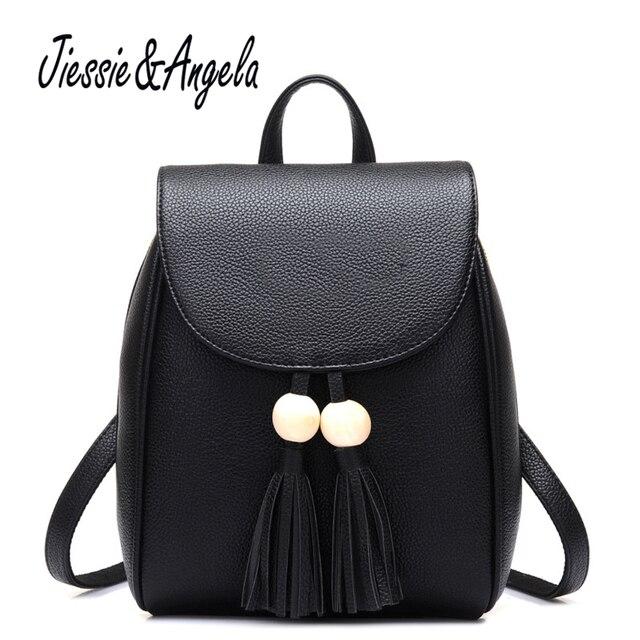 Aliexpress.com : Buy Jiessie & Angela Fashion Women backpack ...