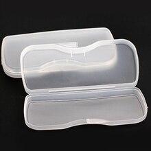 Портативный прозрачный чехол защитная коробка для зажима флип-ап очков