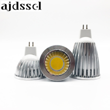 New LED COB Spotlight  bulbs Lampada Led spot MR16 GU5.3 COB 6w 9w 12w Dimmable Led Cob Spotlight  MR16 12V Bulb Lamp GU5.3 220V цена 2017