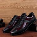 Plus Size Homens Sapatos de Couro Apartamentos Na China 2016 Novo Outono Inverno L083022 Tn Sapatos Gladiador Sapato Masculino Masculino Sociais