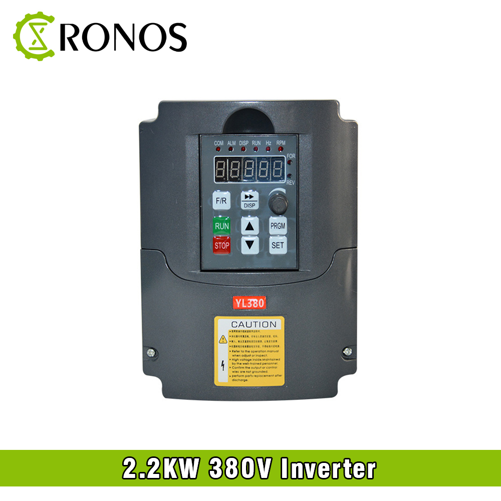 цена на Spindle Motor Speed Control 380V 2.2KW VFD Variable Frequency Drive VFD 3HP Frequency Inverter For Motor