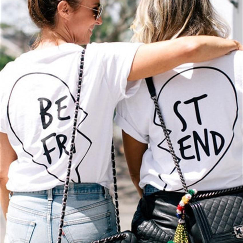 Online Get Cheap T Shirt with Best Friend -Aliexpress.com ...