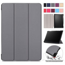 Folding-Cover-Case Lenovo Tab TB-X705F Magnetic for P10 Smart-Stand Slim