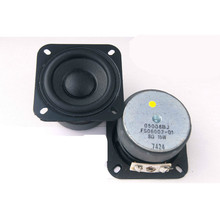 2pcs/pack  2.25-inch 8 Ohm 15 W Full-range speakers small bass big magnet louderspeaker woofer good audio sound