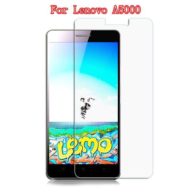 レノボ A5000 強化ガラススクリーンプロテクター 0.3 ミリメートル 9 H 2.5D 保護ガラスフィルムに 5000 電話爆発ガラスフィルム