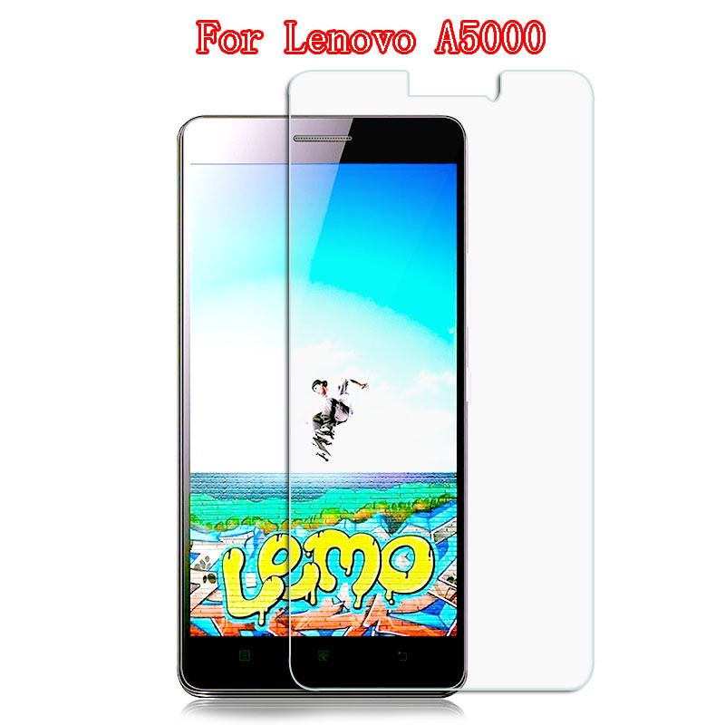 For Lenovo A5000 Tempered Glass Screen Protector 0.3mm 9H 2.5D Protective Glass Film On A 5000 Phone Explosion-proof Glass Film
