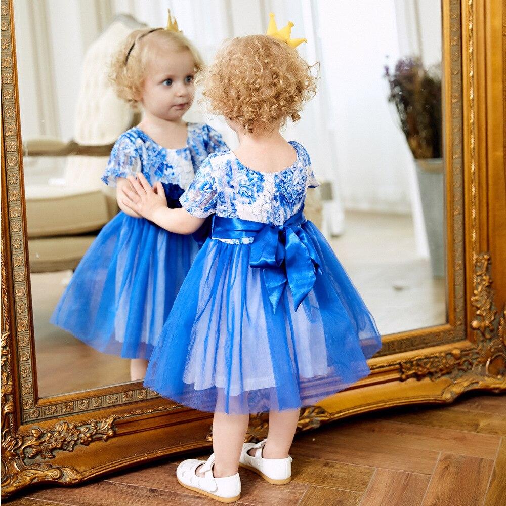 Sukienki dziecięce 2018 Nowa wiosna Jesień Dziewczynek ubrania - Odzież dla niemowląt - Zdjęcie 3