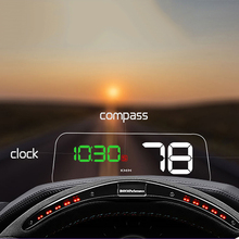 T900 HUD Head Up Display Digital Universal Projection Display with GPS Car Truck Speedometer Display Gauge Diagnostic Tool autool x30 hud obd 2 head up display car gps speedometer headup obd2 projector headup smart digital auto universal display meter
