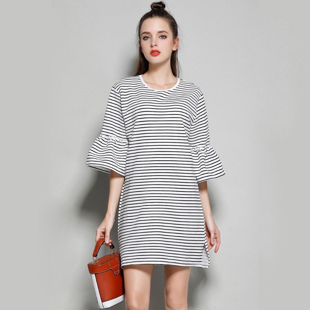 Black Linen Summer Dress