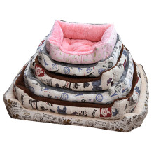 Pet Products Large Dog House Bed Washable Animal Fleece Kennel Cat Litter Petshop Pitbull Labrador Sofa Bedding Big Size