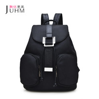2017 JUHM New Arrival Women Backpack Spring And Summer Black Students Backpack Women Korean Style Backpack