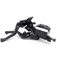 Moto covers CNC Hydraulic Clutch Brake Lever Master Cylinder For yamaha xt 600 embrague hidraulico moto sv 650 benelli tnt 125