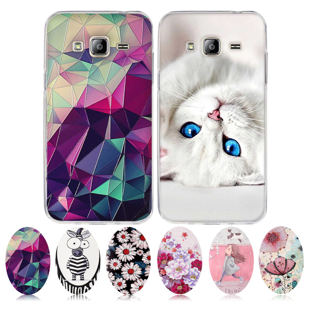 Bag For Samsung Galaxy J3 2015 2016 Case J300F J310F J320F Cover Soft Silicone Fundas Coque For Samsung J3 2015 2016 Phone Cases