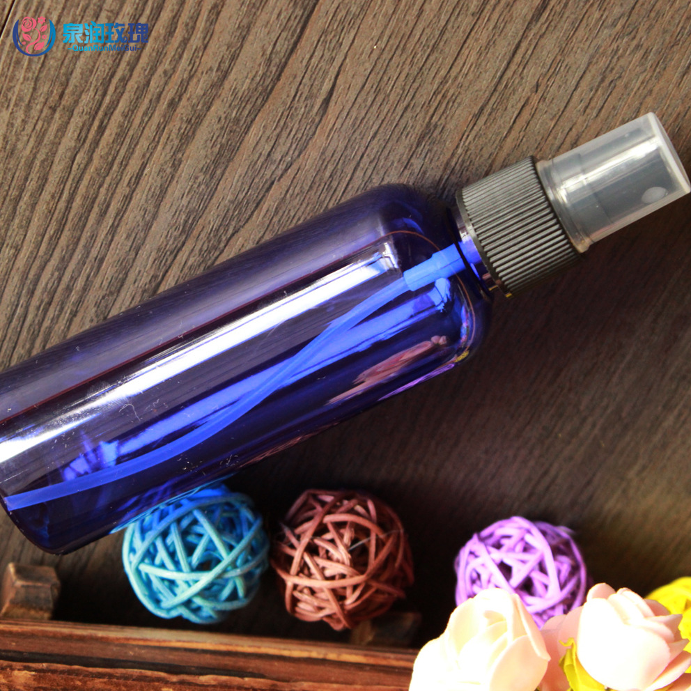 100ml Refillable Portable Perfume Bottle Traveler Spray Atomizer Empty Parfum Bottle Scent Pump Case Make Up Tool 1pcs/lot PP13