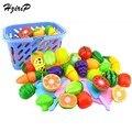 Venta caliente niños pretend play set de cocina de juguete de frutas verduras de plástico de seguridad cocina bebé classic kids educational toys