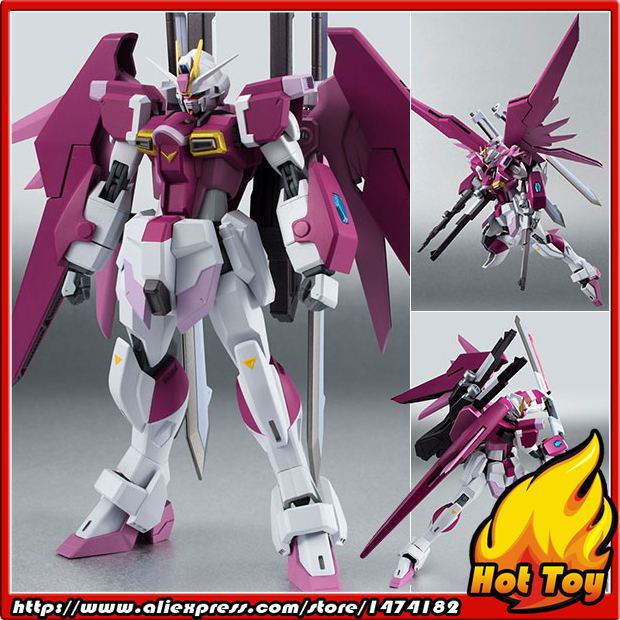 Original BANDAI Tamashii Nations Robot Spirits 200 Action Figure - Destiny Impulse Gundam Mobile Suit Gundam SEED Destiny MSV bandai фигурка fw gundam converge sp08 destiny