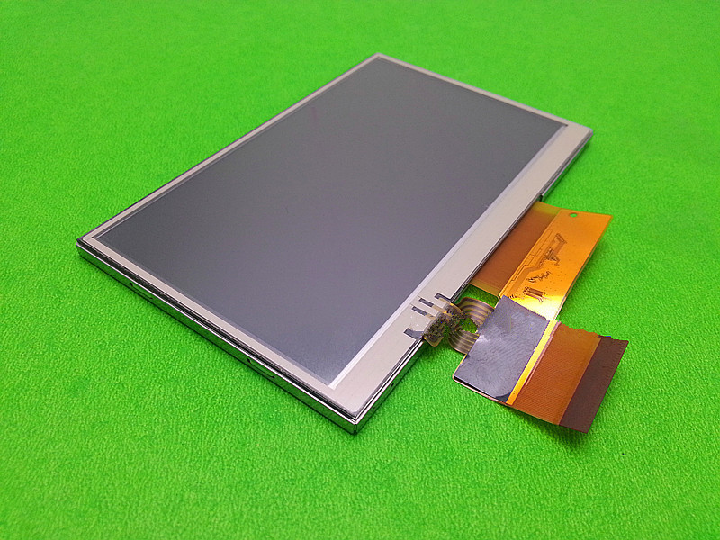 skylarpu 4.3inch LCD for garmin nuvi 1300 1300W GPS LCD display Screen LQ043T1DH41 LCD screen+Touch Panel Free shipping