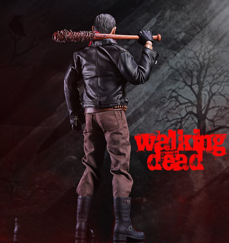 ZCTOYS 1//6 The Walking Dead Negan 12/'/' Action Figure Collection Model Toy Gift