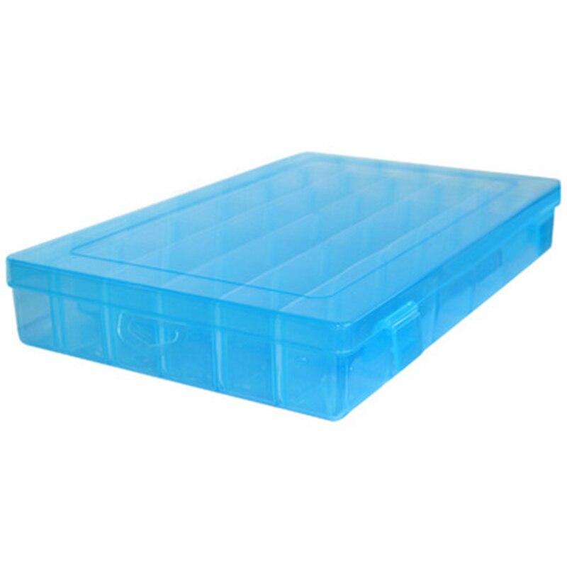 Прозрачный Пластик 36 Отделения ящик для хранения организовать Дело ювелирные изделия из бисера контейнер для хранения Craft Организатор ...