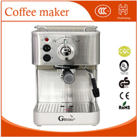 19Bar Semi Automatic Coffee Maker Espresso Machine with Froth Milk Stainless Steel 304 Housing for Home or Office Using