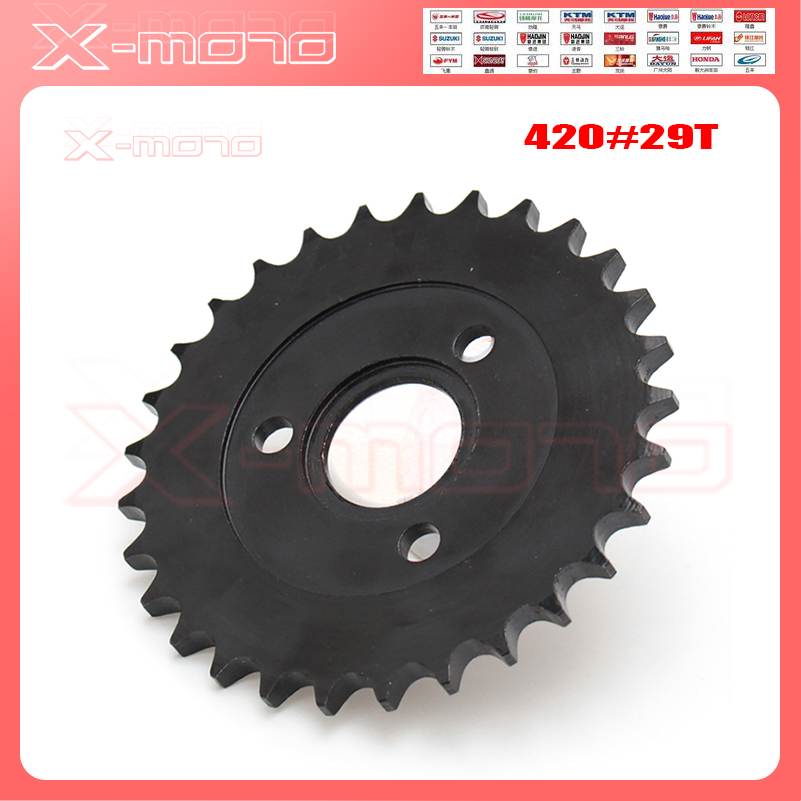 motorcycle parts Z50 rear gear sprocket 29 T tooth FOR 420 chain for pitbike RM monkey bike Z50 50CC image