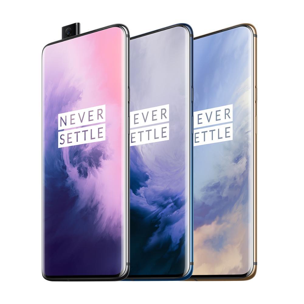 "OnePlus 7 Pro 6/8GB RAM/128/256GB ROM versión Global Smartphone 6,67 ""AMOLED 48MP Triple cámaras Snapdragon 855 de 4000 mAh 30W NFC"
