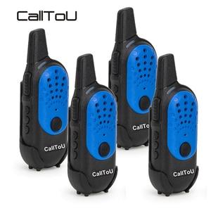 Image 5 - CallTo U мини рация 2 шт. Детские рации радио коммуникатор трансивер 400 470 МГц Портативное двухстороннее радио 1 шт./4 шт.