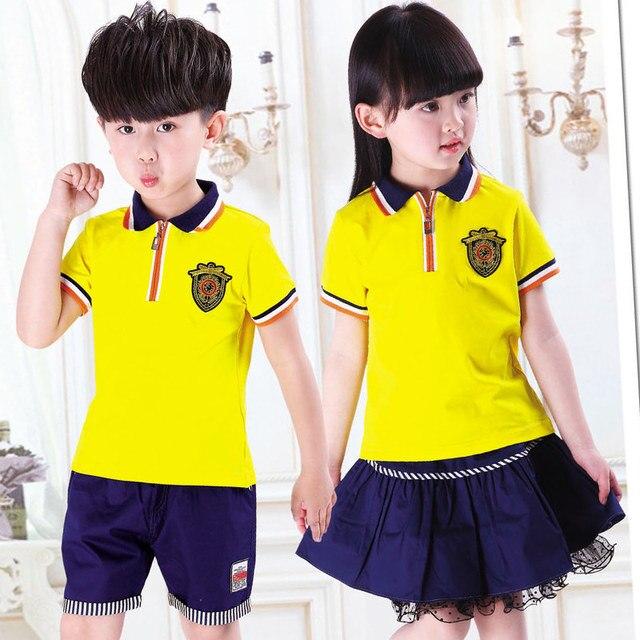 Gemelos ropa niño y niñas camisa cortocircuitos traje conjunto Twin ropa  infantil traje de los niños aaf95746313