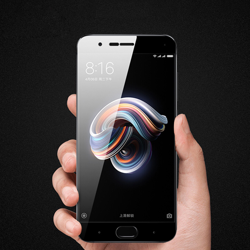 Baixin For Xiaomi Mi Note3 Tempered Glass Xiaomi Mi note 3 Full Cover  Screen Protector For Xiaomi Mi note 3 Glass Film 5.5inch