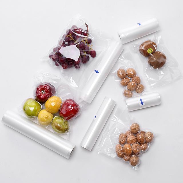 Kitchen Food Vacuum Bag Storage Bags For Vacuum Sealer Food Fresh Long Keeping 12+15+20+25+28cm*500cm 5 Rolls