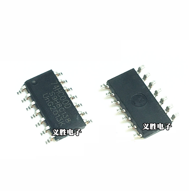 74HC00 SMD INTEGRATED CIRCUIT   74HC00D 2PCS LOT OF 2PCS