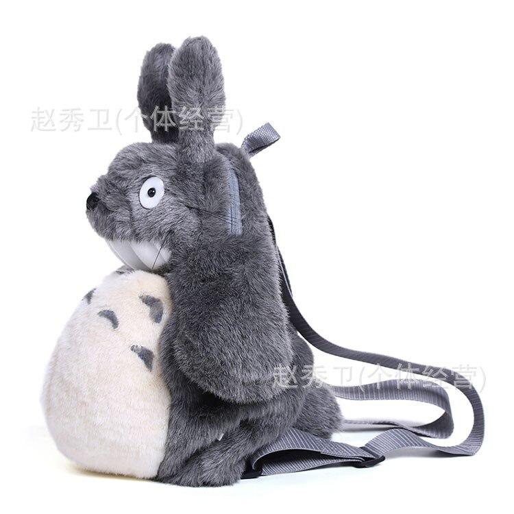 Haute qualité, 50 cm totoro design sac à dos en peluche, librairie, cadeau de noël h131