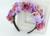 Handmade Kwiat Pałąk Kobieta Dziewczyny Wesele Włosów Akcesoria Panna Młoda Druhna Kwiat Garland Diadem Chluba