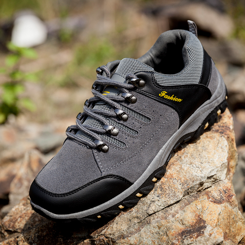 Outdoor Waterproof Men Walking Shoes Nonslip Mens Sports Shoes Cozy Running Shoes Rock S ...