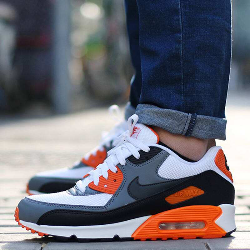 US $53.99 64% OFF Original Authentic NIKE AIR MAX 90 ESSENTIAL Men's Running Shoes Sneakers Outdoor Athletic Breathable Good Quality 537384 128 in