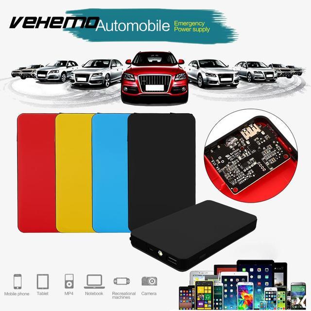 Vehemo Usb Car Jump Starter Kit Car Power Kit Multi Function